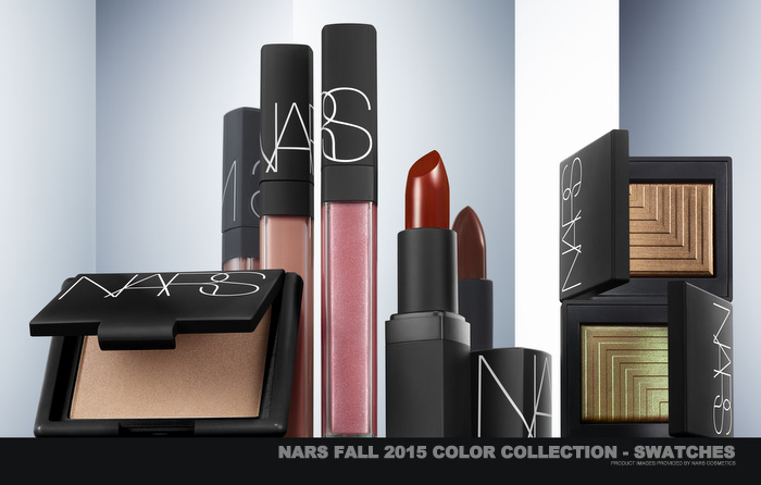 NARS Fall 2015 - Private Screening Makeup Collection - Swatches
