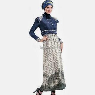 Model Terbaru Baju Busana Gamis Muslim 2014 Trend Busana