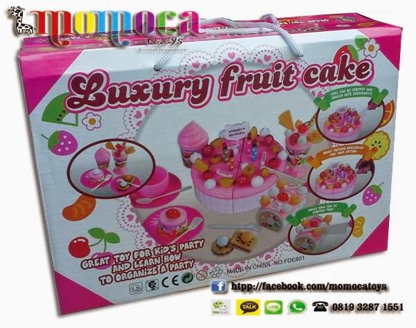 Toko Mainan Jual Kue Ulang Tahun Fruit Cake Taman Mainan