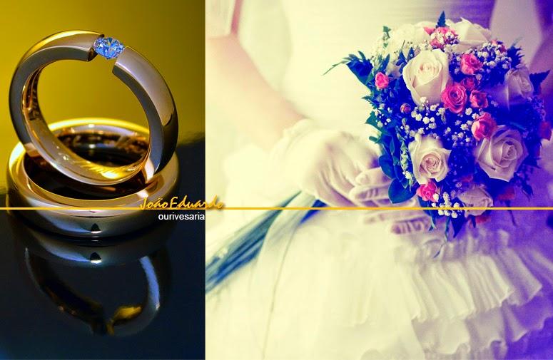 Alianças de casamento ou noivado