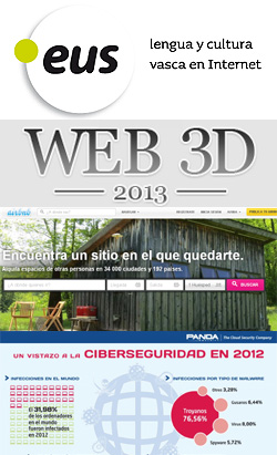 Proceso de aprobación del .Eus, Airbnb.com, Congreso 3D y ciberespionaje