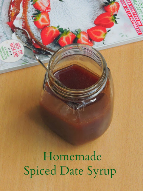 Spiced Date Syrup-Homemade