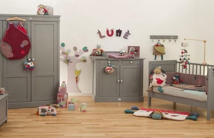 Image chambre bébé fille  Bébé et décoration  Chambre bébé