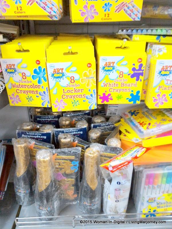 Daiso Jumbo Locker Crayons