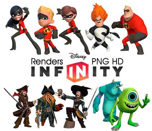 Renders, PNG, HD, Disney Infinity