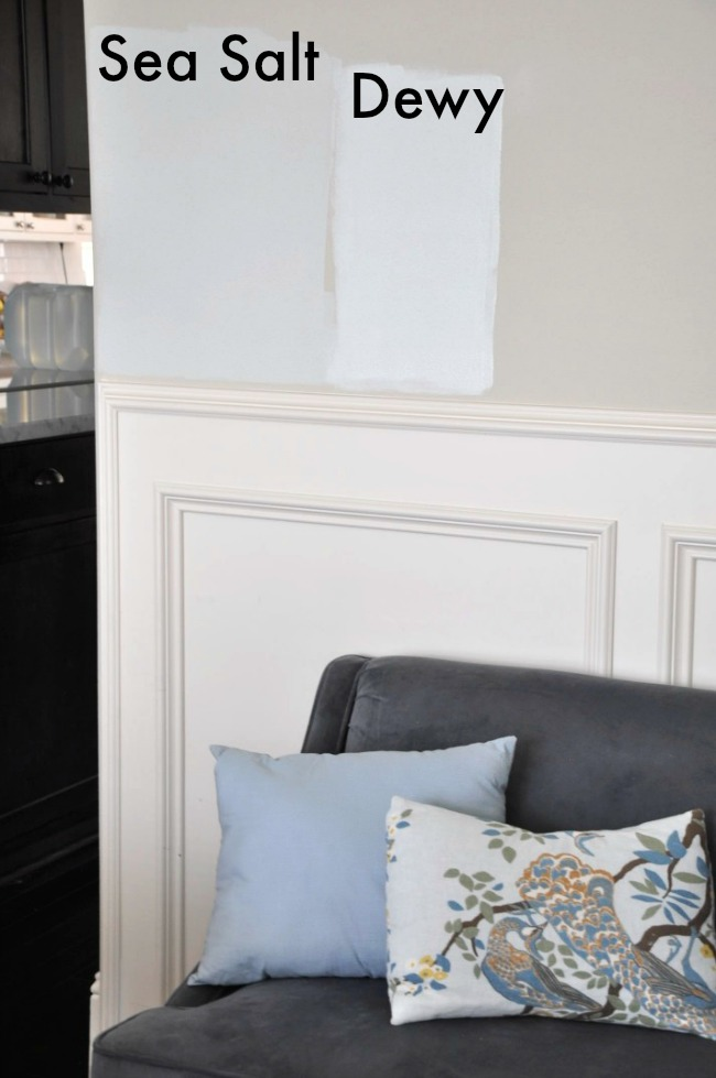 Choosing Paint For The Dining Room Sherwin Williams Sea