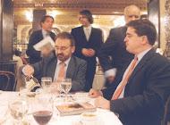Con Francisco Nieva, López Alonso y Miguel Angel de Rus