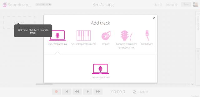 Soundtrap music app