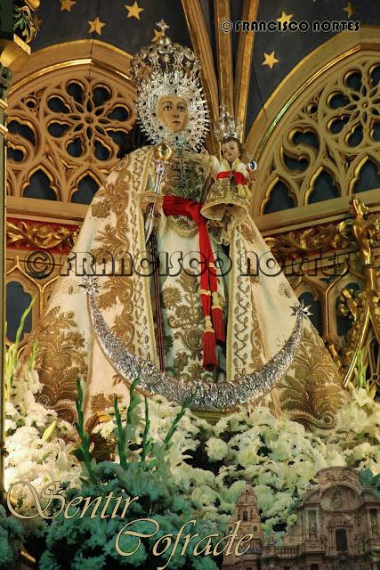 Isabel II y la Virgen de la Fuensanta