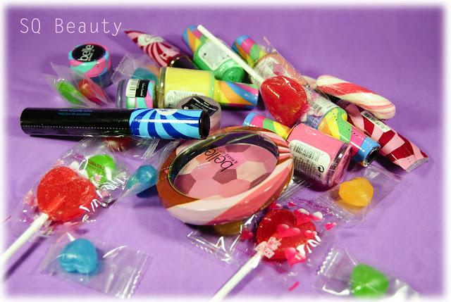Dulce colección Candy de Belle Silvia Quiros SQ Beauty