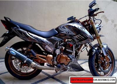 Foto Modifikasi Honda Megapro Terbaru