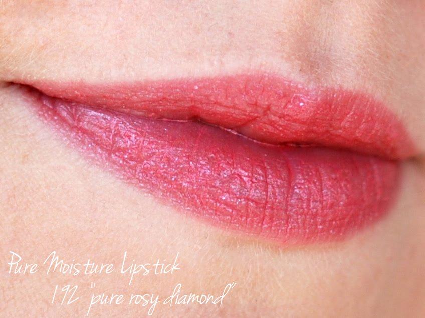 Tragebild Pure Rosy Diamond Pure Moisture Lipstick 192 Artdeco