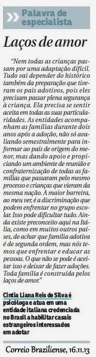 Cintia Liana No Correio Braziliense