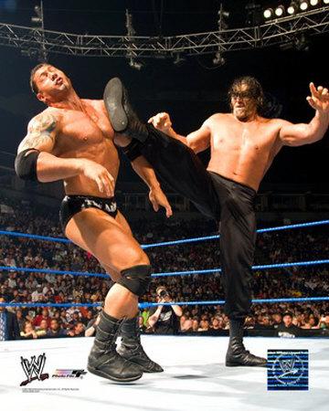 wwe wrestling champions wwe batista vs rock