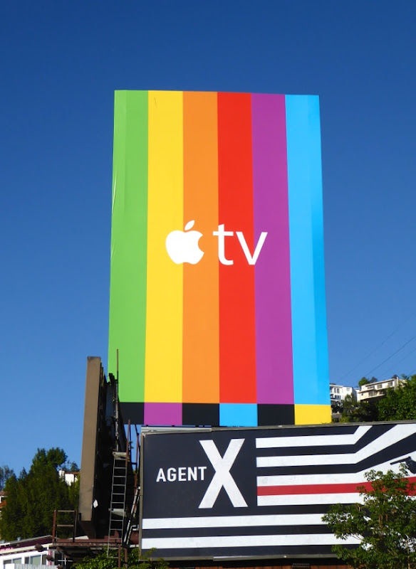 Apple TV billboard