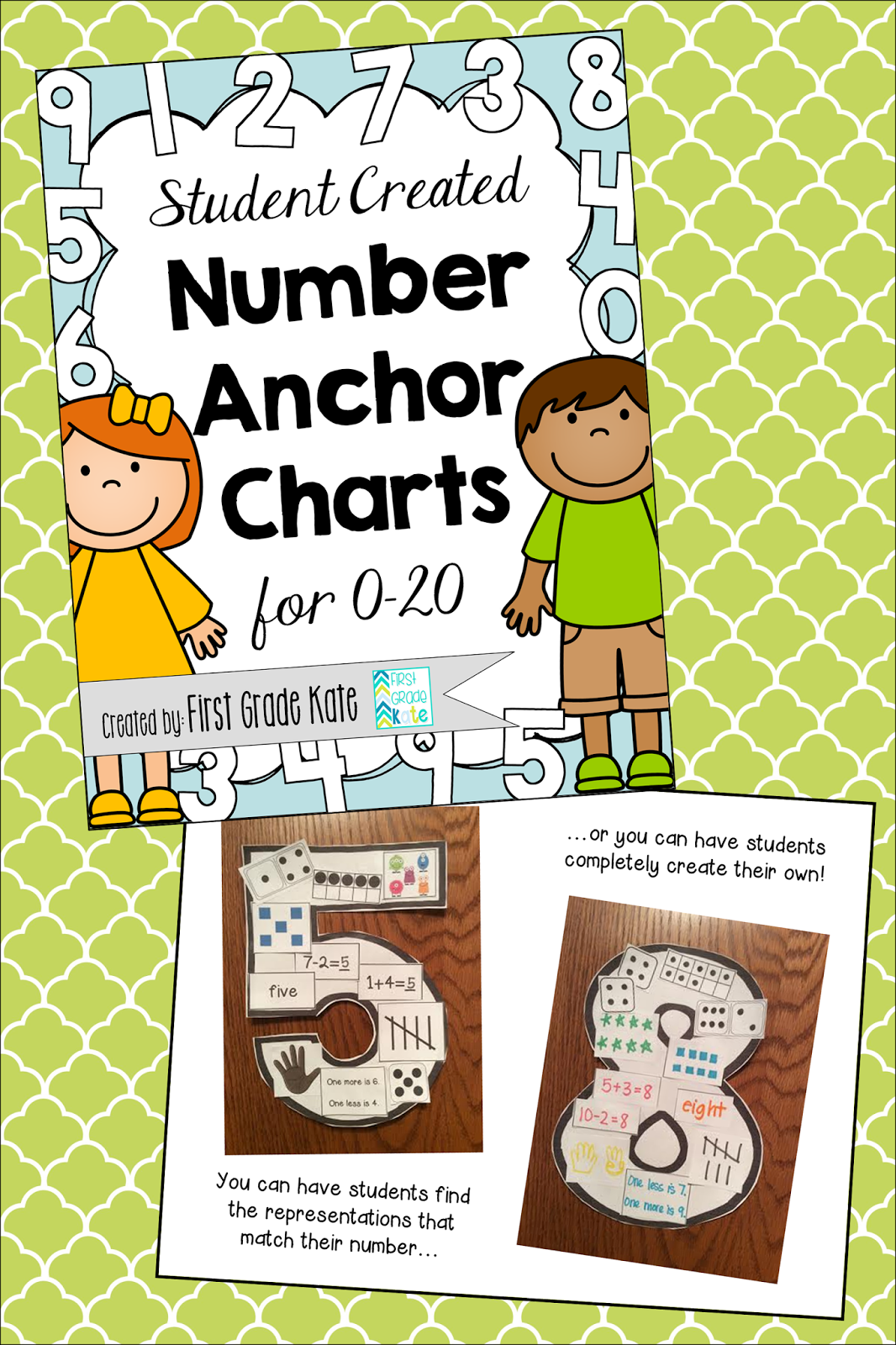 http://www.teacherspayteachers.com/Product/Student-Created-Number-Anchor-Charts-0-20-1261642