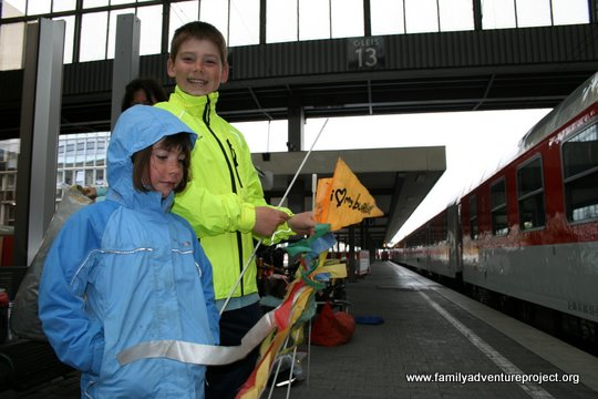 Kids at the Station