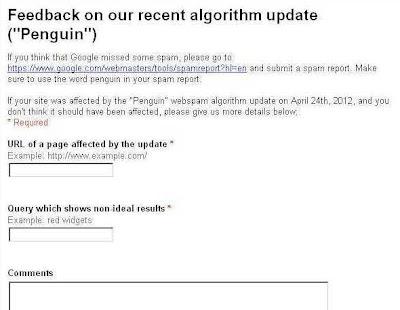 Google Penguin Update Buat Blog