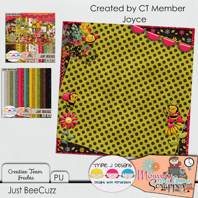 Juct BeeCuzz from Mommy Me Time Scrapper & Triple J Designs