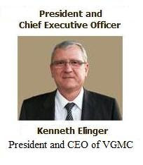 New CEO of VGMC – Kenneth Elinger