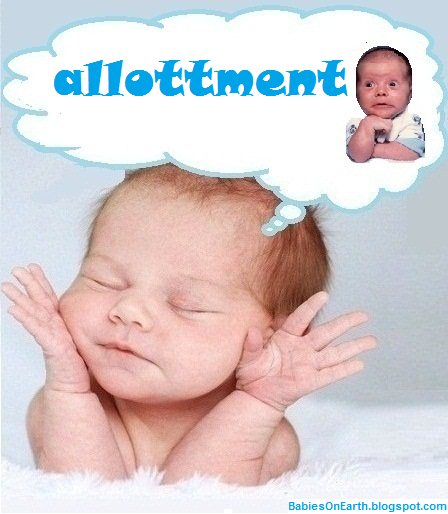 allottment