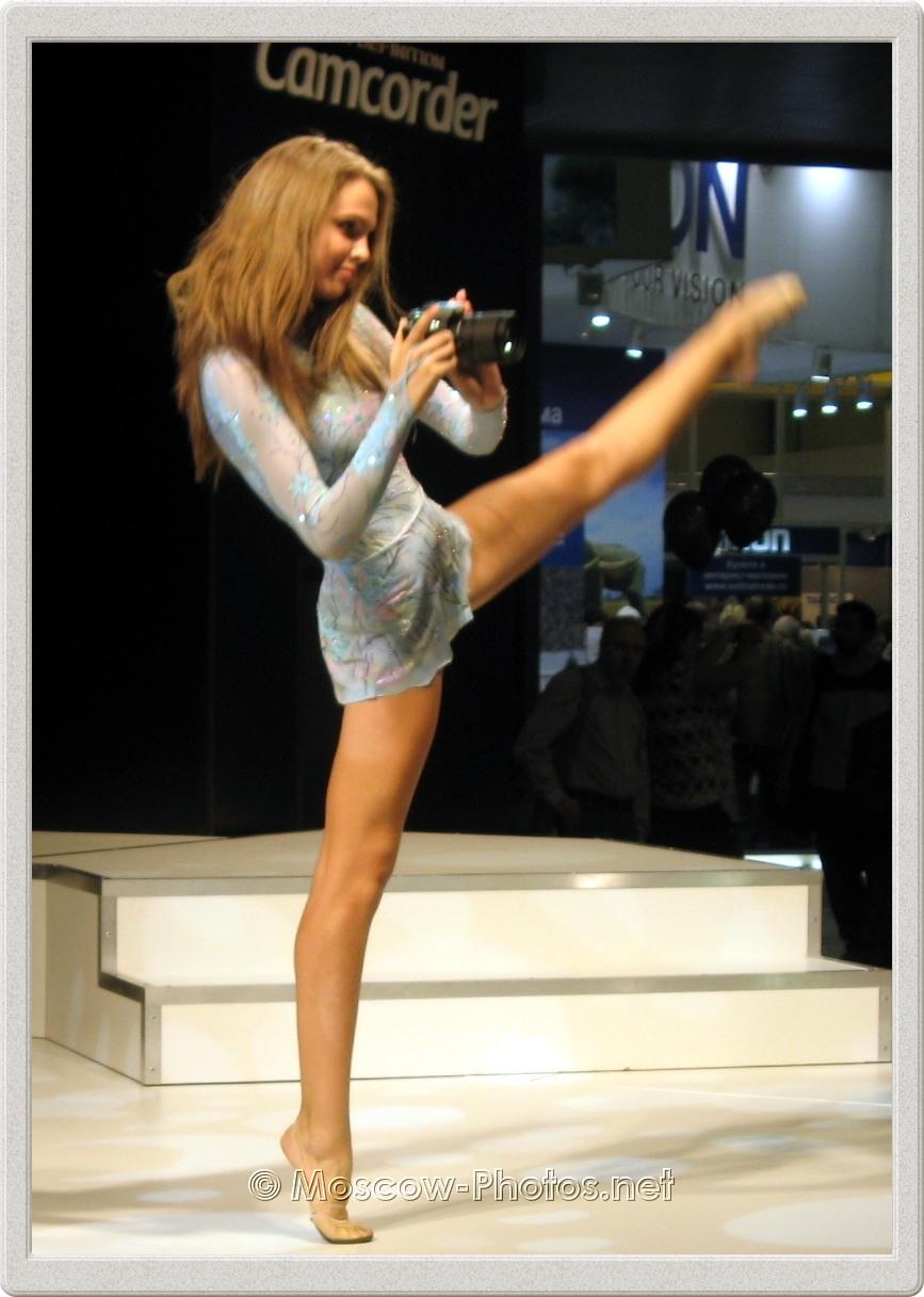 Beautiful dancer. Photoforum - 2008, Moscow.