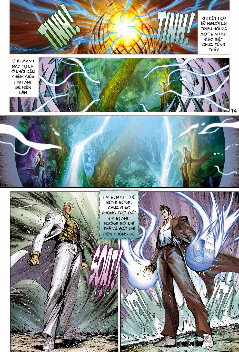 Thần Binh 4 chap 26 - Trang 15
