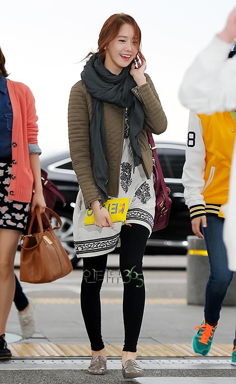 SNSD Di Bandara Incheon 01