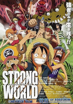 Poster Film One Piece Strong World