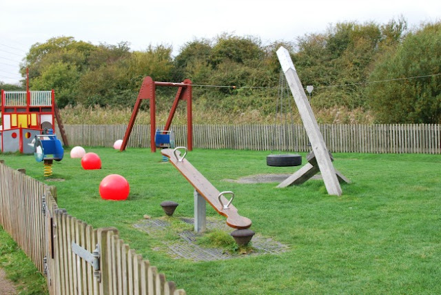 Picture of playground with play equipment