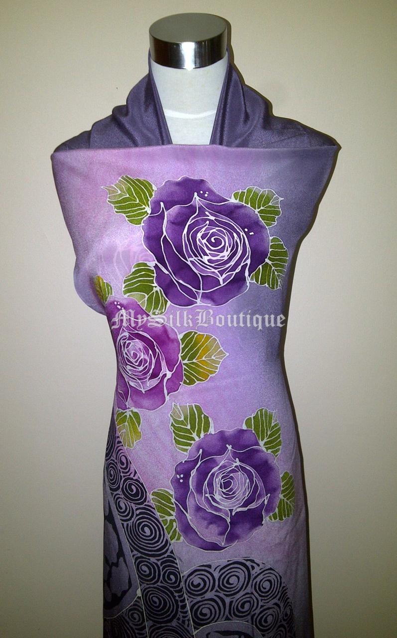 Batik Sutera Terengganu: Batik Lukis Eksklusif Corak Bunga dan Abstrak