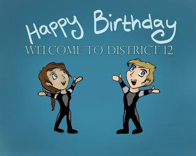 Welcome to District 12: OUR SUPER FUN TIME BIRTHDAY GIVEAWAY!