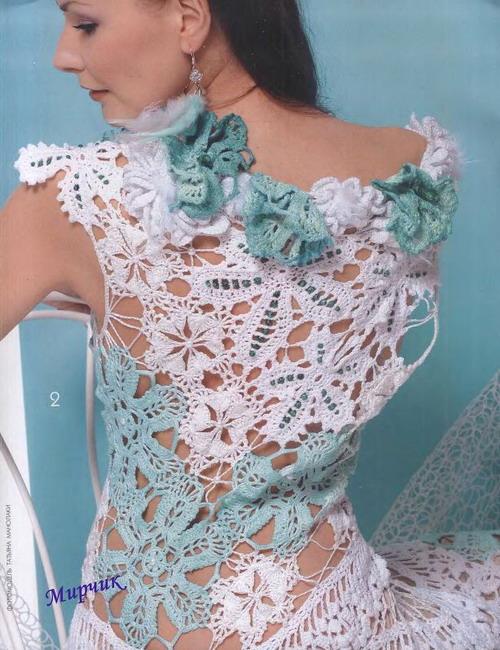 Tejido de crochet ruso - Imagui