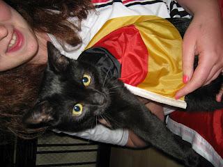 Deutschland-Katze