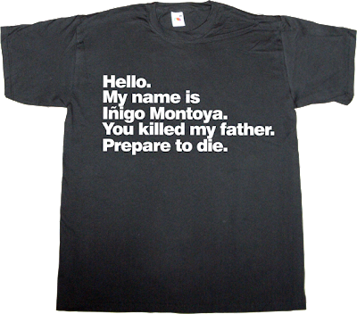 movie princess bride helvetica t-shirt ephemeral-t-shirts