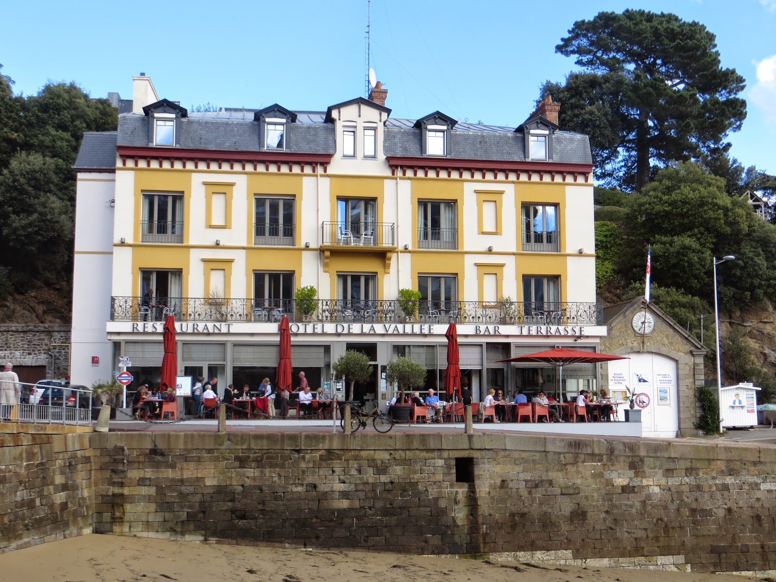Travel and the art of writing our european journey 2014 for Hotels dinard