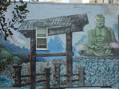 Buddhist Street Art Los Angeles