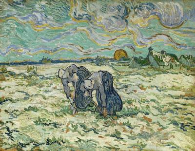 Vincent van Gogh - Die Grabenden (1890).