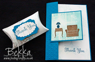 Little Additions House Scene Thank You Card and Pillow Box by Bekka www.feeling-crafty.co.uk