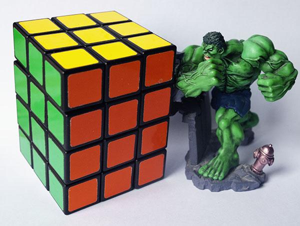 Rubik 3x3x4 Hulk