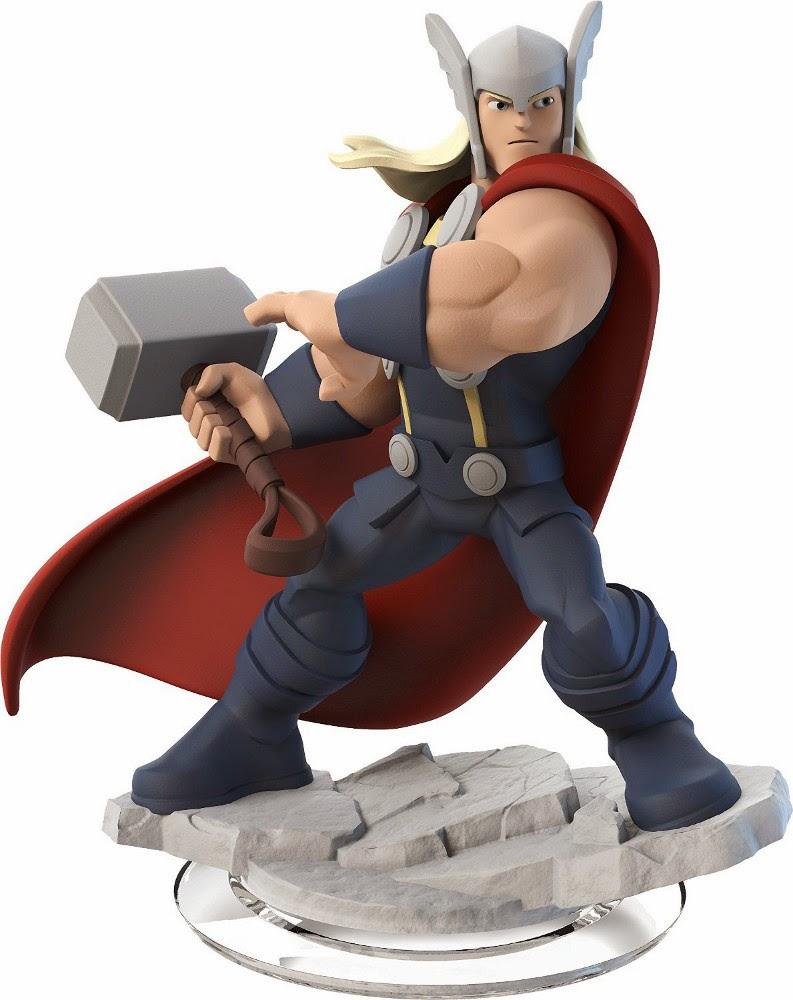 TOYS : JUGUETES - DISNEY Infinity 2.0    Figura Thor : Marvel Super Heroes  Videojuegos | Producto Oficial | A partir de 7 años  Disney | 7 noviembre 2014