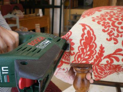 Trabajo artesanal c mo tapizar una silla paso a paso - Tapizar una silla ...