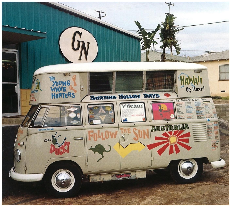 porelpiano surf wagon leroy grannis california. Black Bedroom Furniture Sets. Home Design Ideas