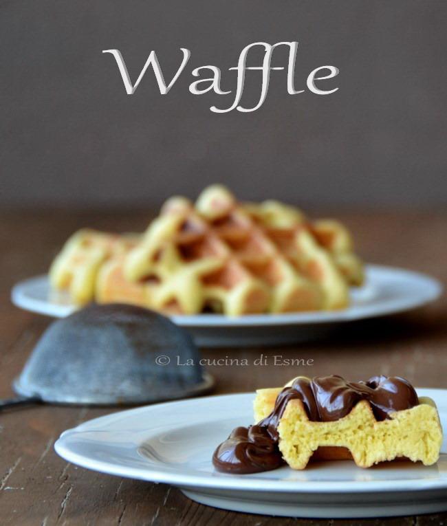 La cucina di esme waffle una ricetta belga - La cucina di esme ...