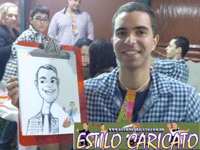 Caricatura Ao Vivo Alto Da Boa Vista 01