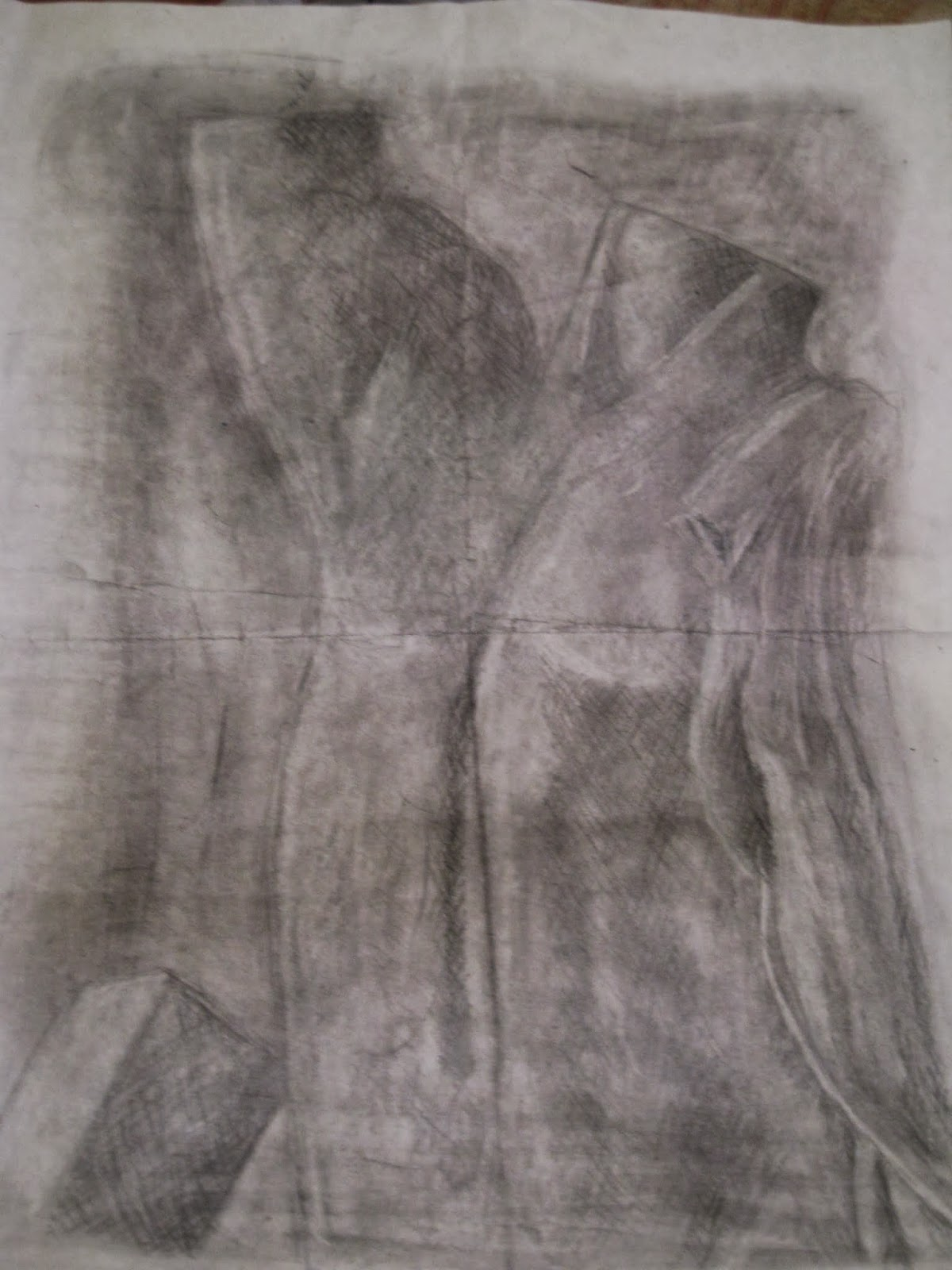 Upside Down Contour Line Drawing : Contour drawing quot upside down picasso neutral ground