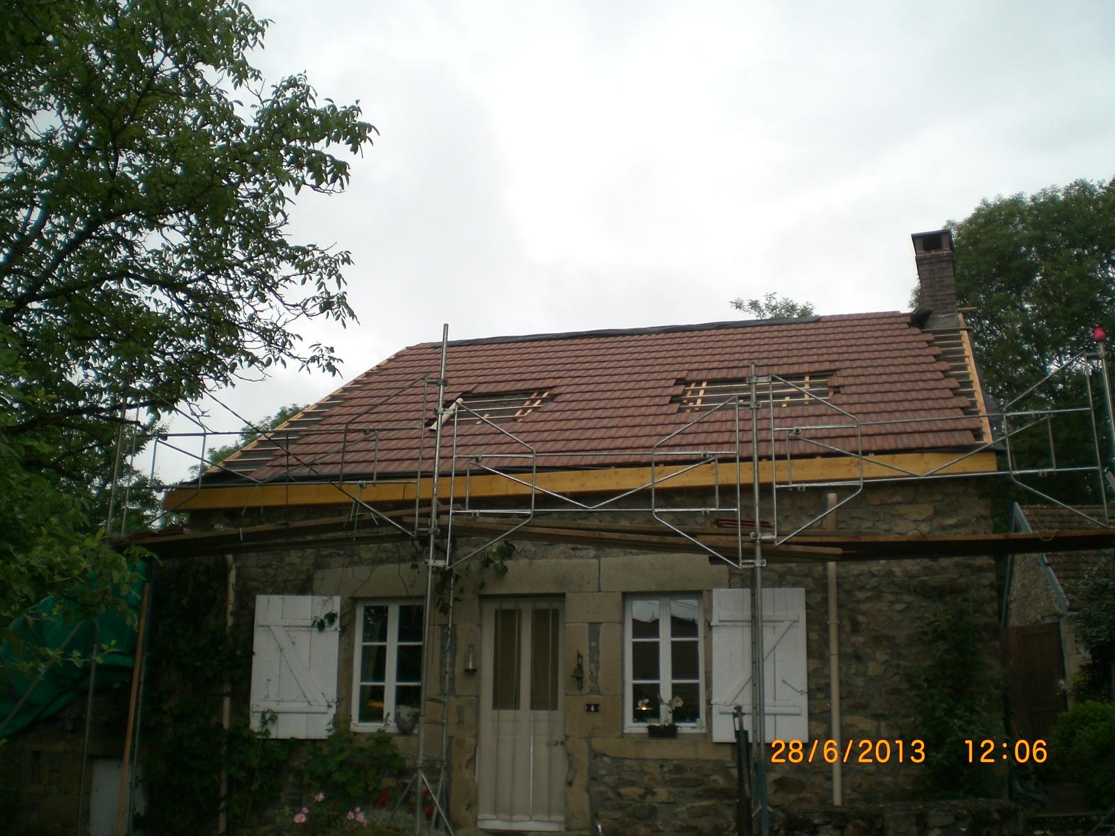 Het dak: juni 2013