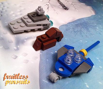 Fruitless Pursuits Lego Star Wars Advent Calendar 2012 Day 5 A