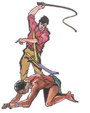 Un joven esclavo se deja someter por un amo negro
