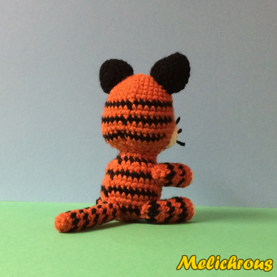 Nerdy Amigurumi Patterns : Melichrous: Toodles the Tiger Pattern